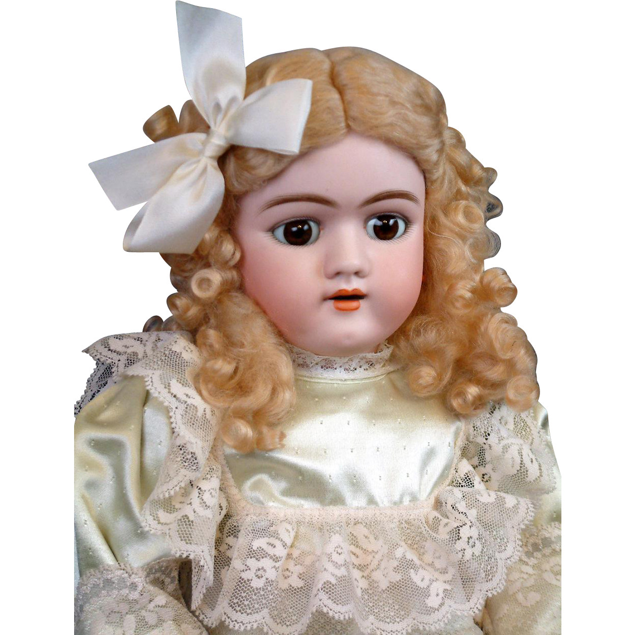 "*Exceptional Face* Handwerck 109 Antique Doll 25"" with Beautiful Marked Cryer Body"