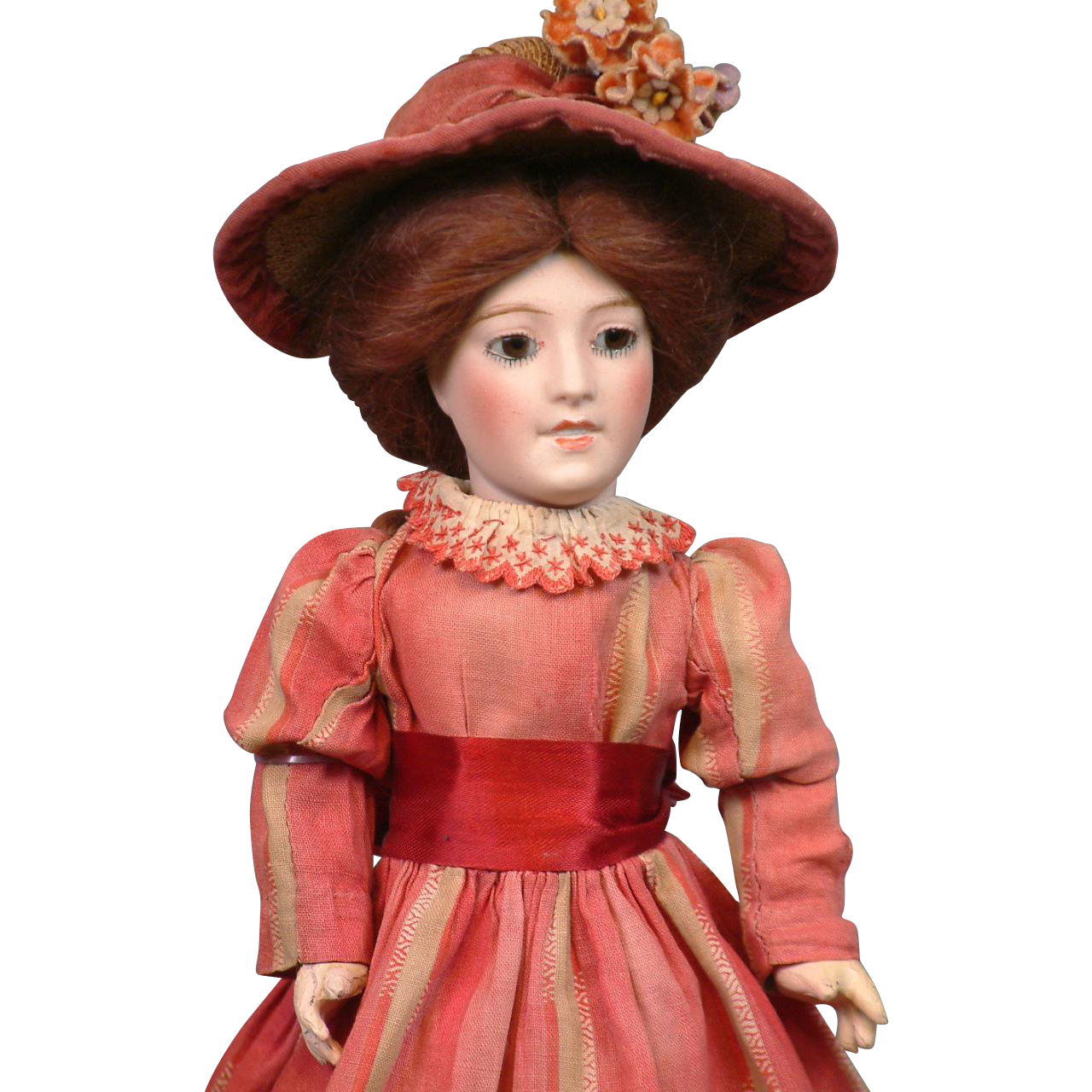 Fine French Limoges Character Lady