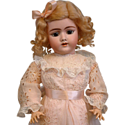 """Early 23.5"""" Handwerck Halbig 109 Antique Bisque Doll w/Beautiful Original Condition Body!"""