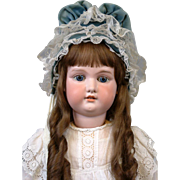 """Child-Sized 33"""" Armand Marseille Antique Bisque Doll w/Lovely Display Costume!"""
