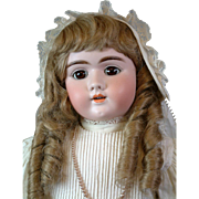 "Exceptional Handwerck 109 29"" Antique Bisque Doll w/Extraordinary Costume A MUST BUY!"