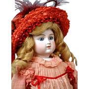 "Jubilant 21"" All Antique Alt Beck & Gottschalk German Fashion Lady C. 1875"