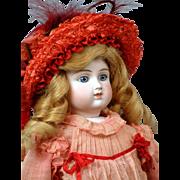 "~Reserved For PB~Jubilant 21"" All Antique Alt Beck & Gottschalk German Fashion Lady C. 1875"