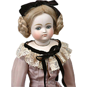 """Outstanding 15.5"""" Pouting Closed Mouth Kestner 'Enfantine' Fashion Doll"""