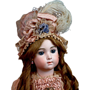 """The Most Spectacular 25"""" Triste Bebe Jumeau Long Face by Carrier-Belleuse - Red Tag Sale Item"""