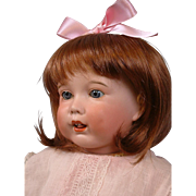 "RARE 20"" SFBJ 251 Toddler with Blue Sleep Eyes and Bisque Tongue Oh Wow!"