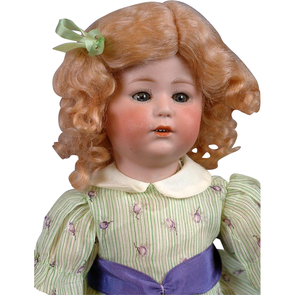"RARE Gebruder Heubach ""Mirette"" 10731 Antique Toddler Character"