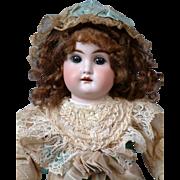 "14"" Mystery Kestner Antique Doll in antique Costume"