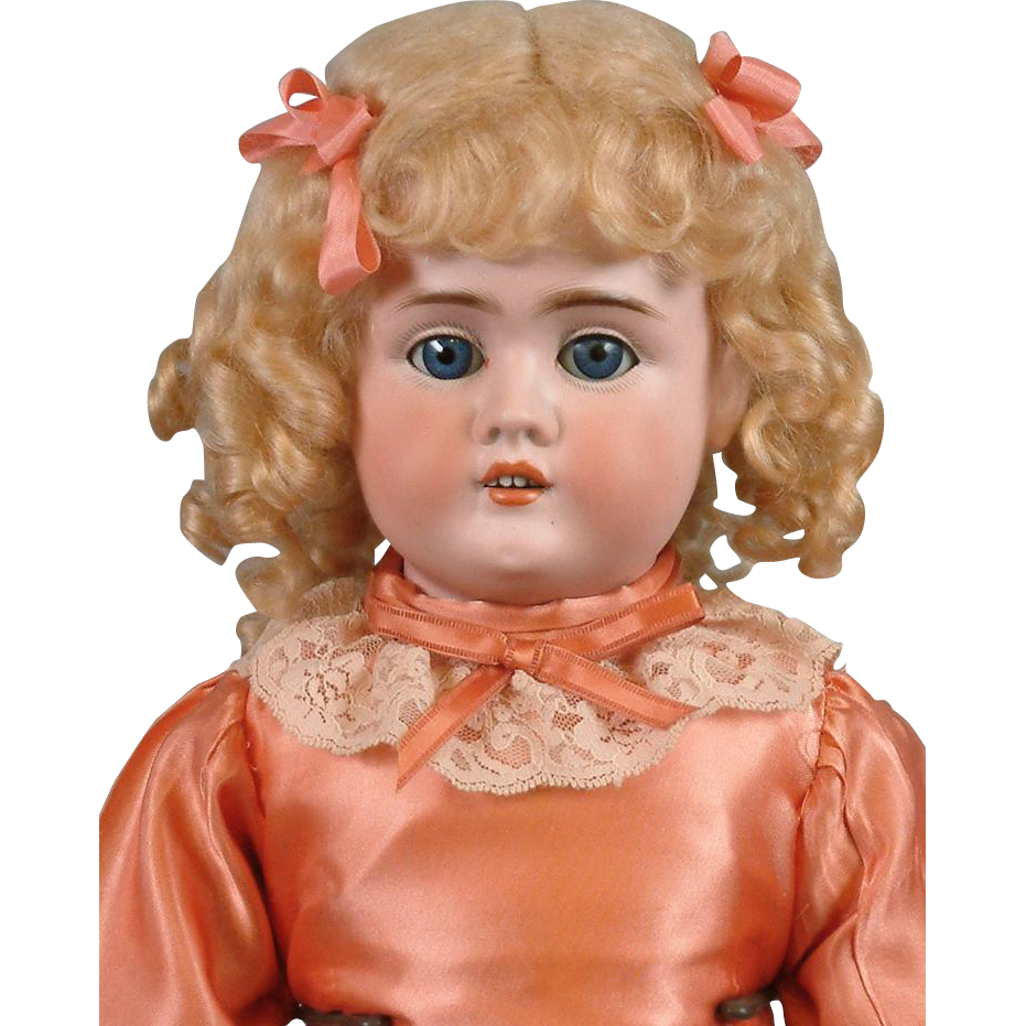 "Delightful 22"" Strobel & Wilken Antique Doll on Outstanding Jubilee Kid Body!"