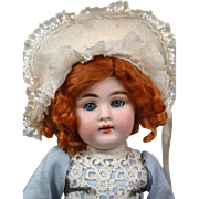 RARE Incredible Kestner 160 Antique Girl on Original Cryer Body