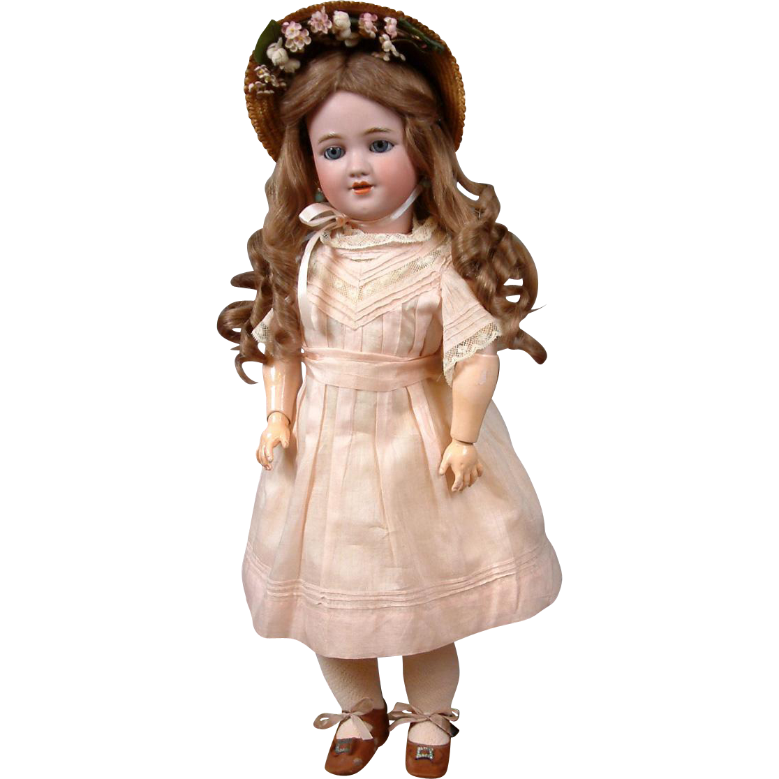 """Exquisite 20""""1339 Mold by Simon & Halbig for Louis Lindner & Sons Antique Child Doll"""