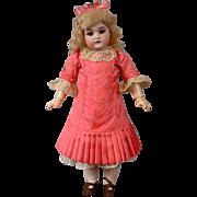 "Pale 18"" Handwerck 79 Antique Bisque Doll on Exquisite Body"