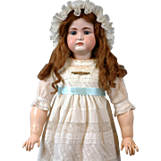 """Stunning 31"""" Rare to Find Kammer & Reinhardt 192 All Antique Doll with Closed mouth & Original Early Body"""