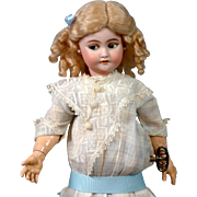 "17.5"" Rare Simon & Halbig 1039  Flirting Mechanical Roulet & Descamps Walking Doll For The French Trade (Minor Boo-Boo)"