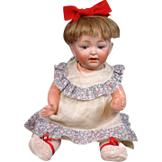 "Darling 13.5"" Kestner ""Sammy"" Baby Antique Character Bisque Doll"