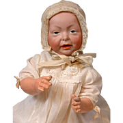 "Excellent Kaiser by K&R 15"" Character Baby Antique Doll"