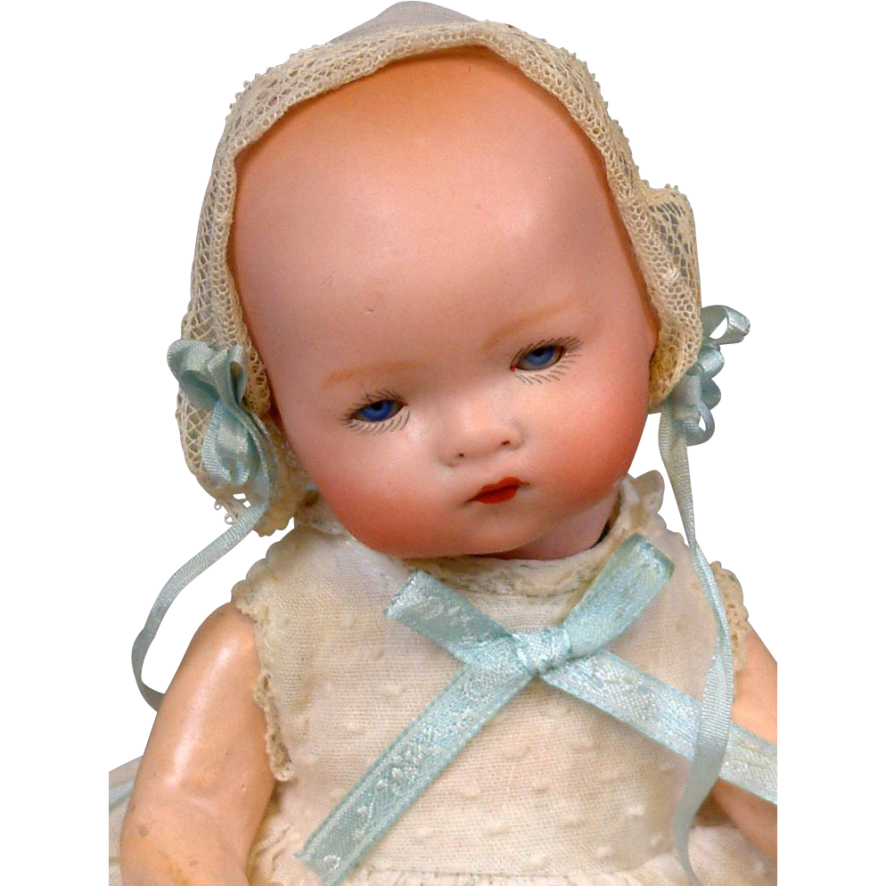 """Petite """"Dream Baby"""" Type by Armand Marseille 9"""" Antique Character Doll"""
