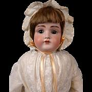 """All Original Antique Kestner 154 22.5"""" German Bisque Doll w/Original Wig!"""