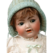 "Precious Cherub Kammer & Reinhardt 126 FLIRTY Blue Eyes Character Baby 14"""
