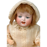 "*Little Angel* Petite Hertel & Schwabb 152 Character Baby 8"" in All-Antique Costume"