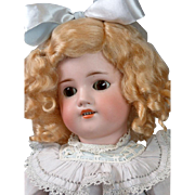 "*Alluring* 20.5"" Simon & Halbig 540 Antique Bisque Bebe in Precious Costume!"