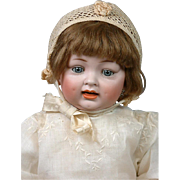 """*ALL-ORIGINAL*  23""""Hertel & Schwabb 152 Chunky Pale Character Baby- Those Dimples!"""