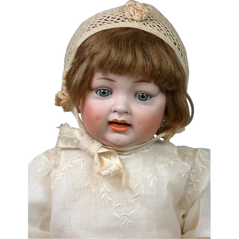 "*ALL-ORIGINAL*  23""Hertel & Schwabb 152 Chunky Pale Character Baby- Those Dimples!"