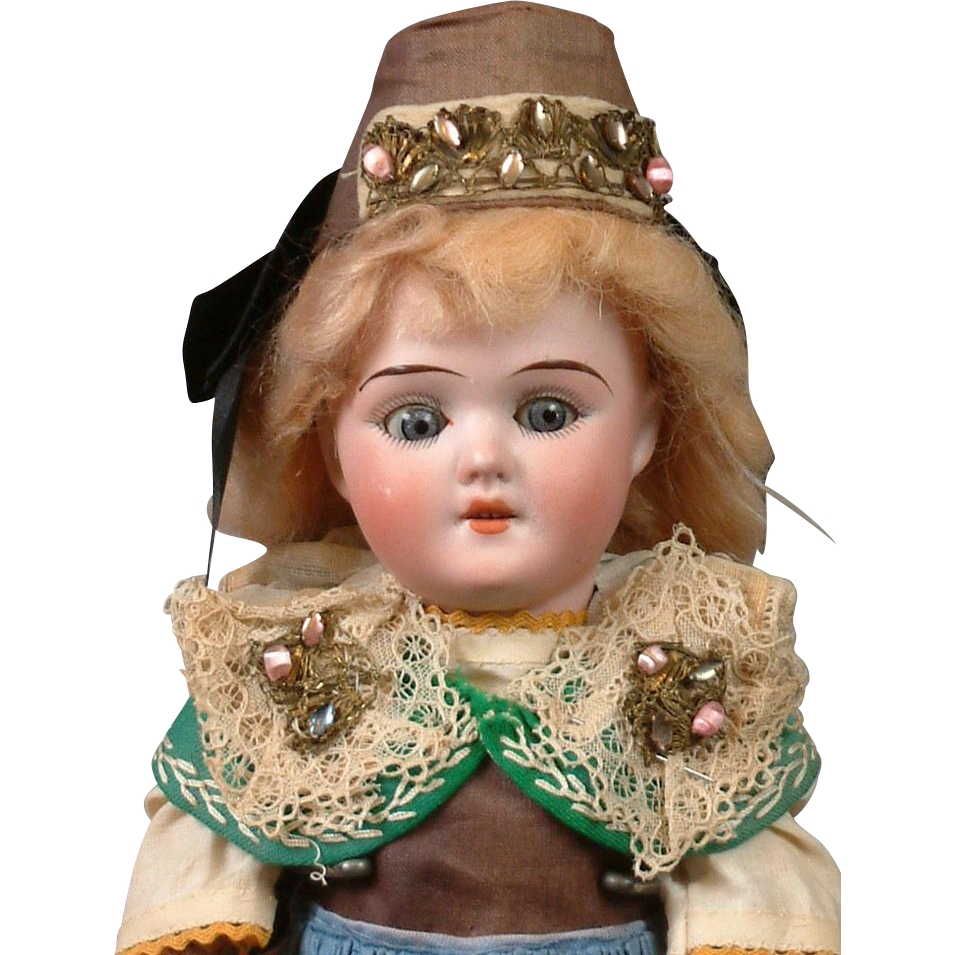 *ALL-ORIGINAL* Regional Schoneau & Hoffmeister 5800 Antique Doll 14""
