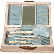 *TOP-CLASS* Early Antique Fashion Accessories Complete Box Set c.1875-1885