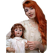"ASTOUNDING 25"" K&R Simon & Halbig 121 Antique Character Baby"