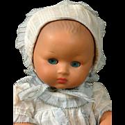 Adorable Vintage Furga Key-Wind Moving Baby c.1950 All-Original