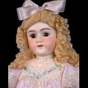 "Huge 28"" Handwerck Halbig 109 Antique Doll on Near-Mint Original Body"