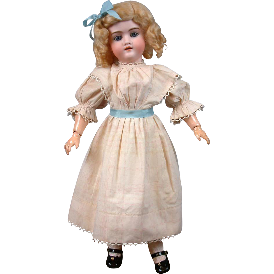 "Exceptionally-Adorable Walkure by K&H 19"" Doll with Big Blue Eyes"