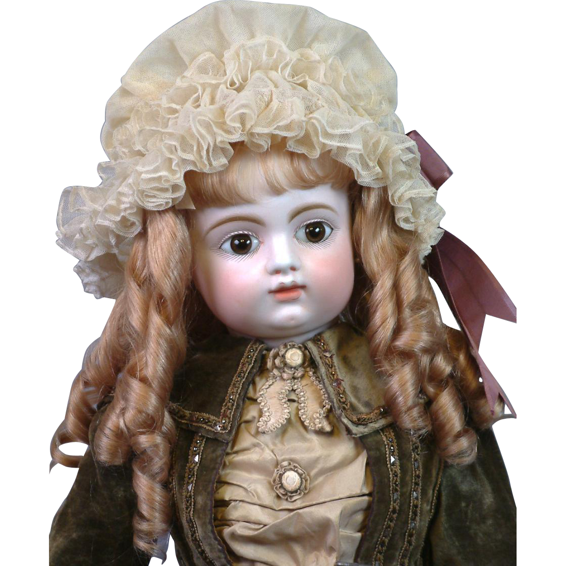 """Life Size 35""""  Francois Gaultier Block French Bebe in Original Costume & Great Condition!"""