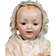 "The Cutest Kestner ""Baby Jean"" Character Baby Doll 18.5"""