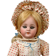 "8.5"" Simon & Halbig 1078 Antique Bisque Doll in Factory-Original Costume"