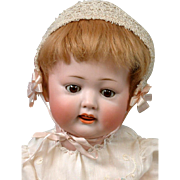 "Adorable 16"" Kley & Hahn 176 Antique Character Baby in Fabulous Condition"
