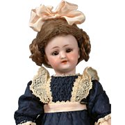 "*The Best* 9.75"" Simon & Halbig 1078 Doll on DESIRABLE Fully-Jointed Wood Body"