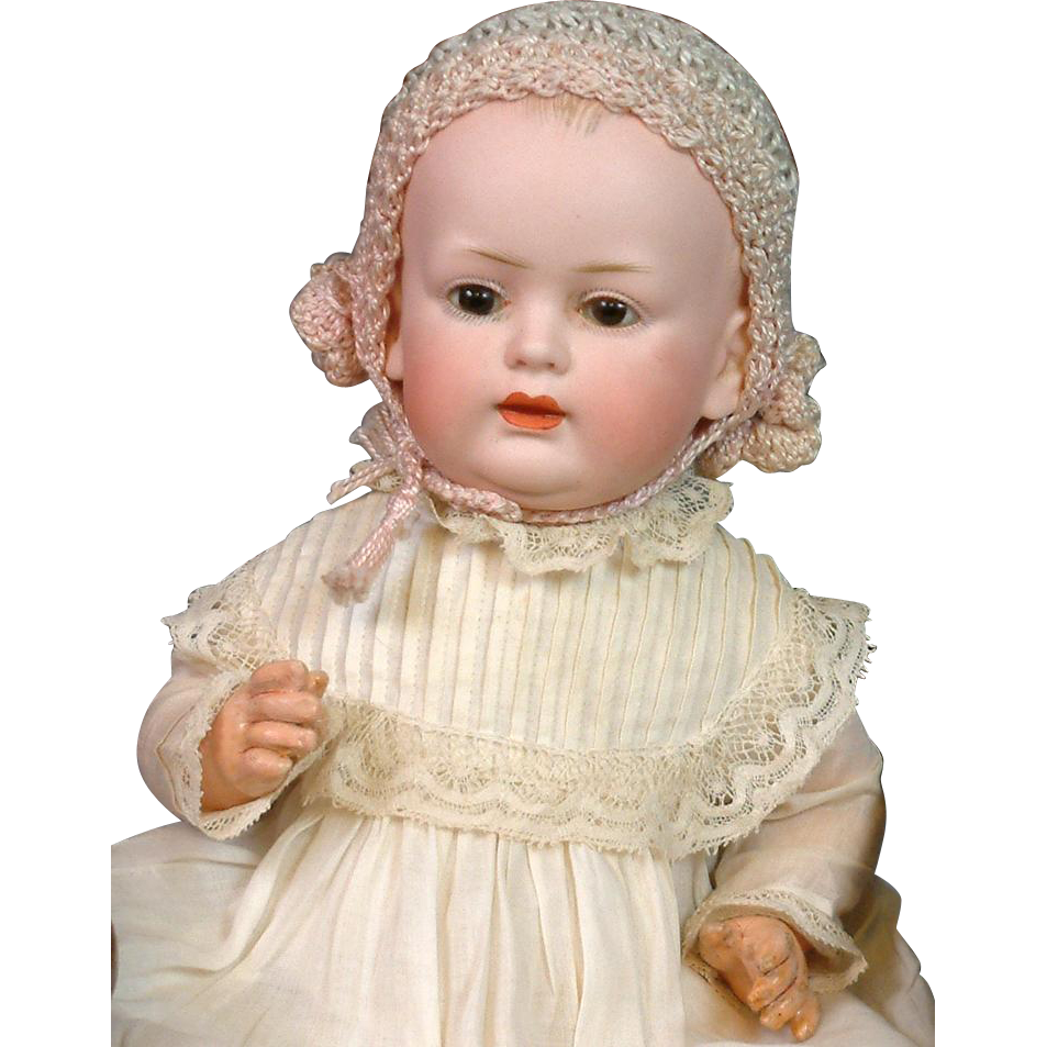 "SUPER RARE 10.5"" 584 Character Kley & Hahn in Antique Dress!"