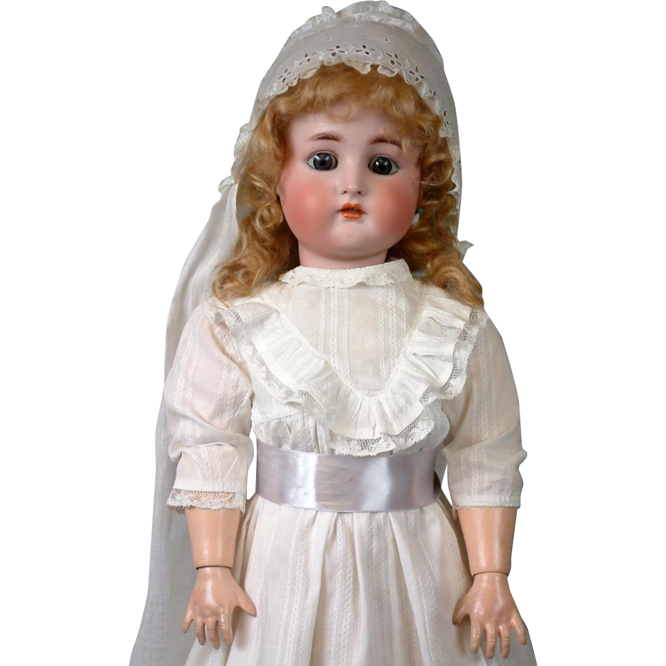 "LARGE 27.5"" Kammer & Reinhardt / Simon & Halbig Antique Child Doll"