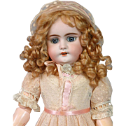 "RARE Simon & Halbig / Gans and Seyfarth DEP Antique Doll 17"" MINT Body"