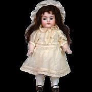 """Delightful 7"""" Kestner 257 All-Bisque Doll in Antique Costume"""