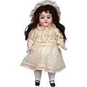 "Delightful 7"" Kestner 257 All-Bisque Doll in Antique Costume"