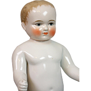 "UNCOMMON 15"" Blond Frozen Charlie ""Bathing Doll"" with BLUE EYES"