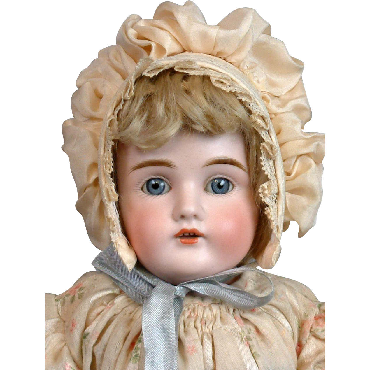 "Gorgeous All-Original Kestner 154 16.5"" Doll on Original Stamped Body"