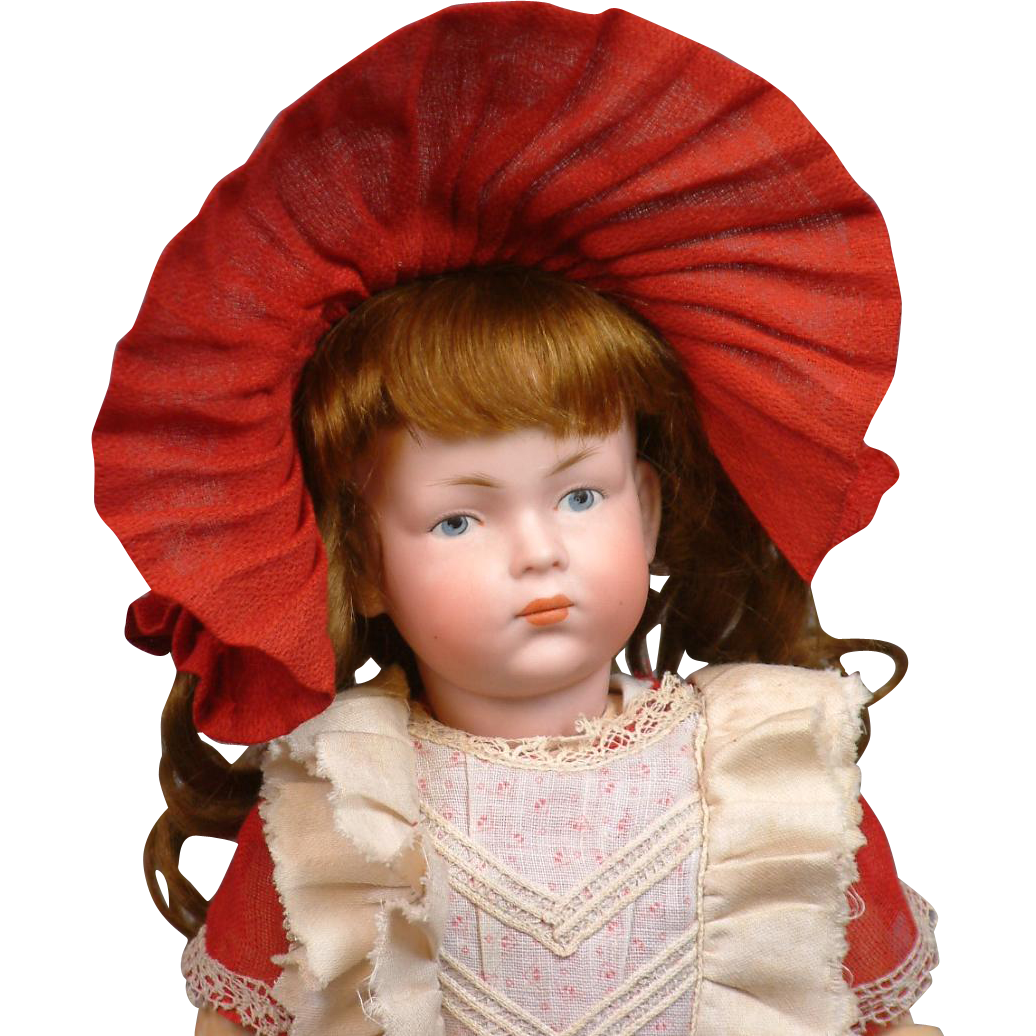 "13.5"" All Factory Original Kley & Hahn 526 Character Pouty Child"