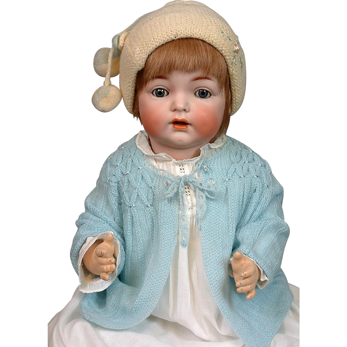 """*The Best* 20.5"""" Kammer & Reinhardt / S&H 121 Antique Character Baby"""