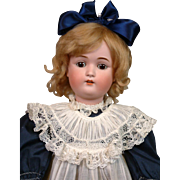 *The Sweet* Kestner 168 Antique Bisque Doll 23.5""