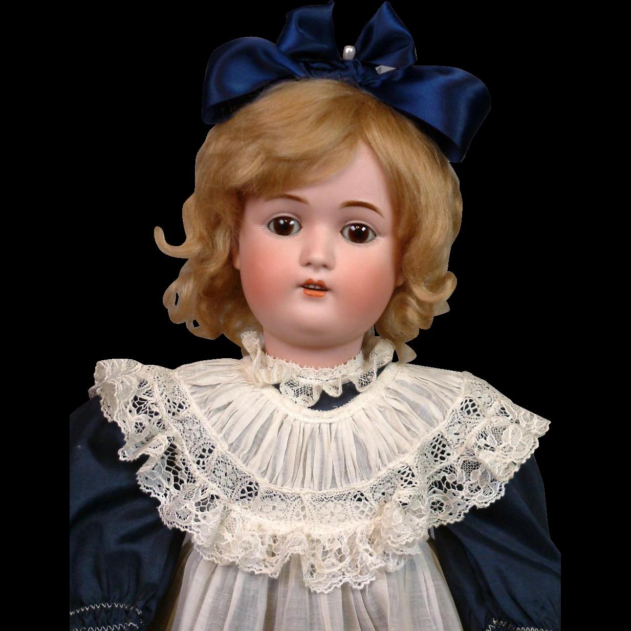 """*The Sweet* Kestner 168 Antique Bisque Doll 23.5"""""""