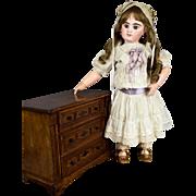"""Lovely Deluxe Antique Oak & Pine Doll Dresser c. 1890-1910 14.5"""" x 11.5"""""""
